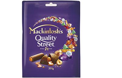 Mackintosh's Quality Street Chocolate 200Gm