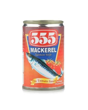 555 Mackerel In Tomato Sauce 425gm (748485300047)