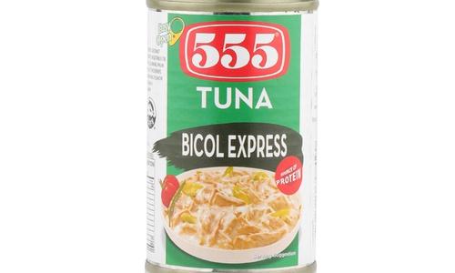555 Tuna Bicol Express 155gm (748485700090)