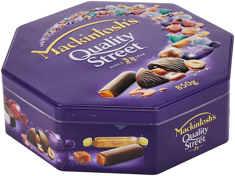 Mackintosh's Quality Street Chocolate 850Gm